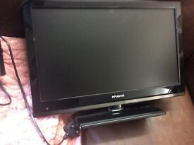 28 inch LCD TV with DVD / plus TV Table : Free Glasgow Delivery