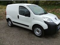 PEUGEOT BIPPER S HDI EURO 5 2012 (62) NO VAT FULL SERVICE HISTORY ONE OWNER