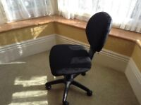 Two office chairs.