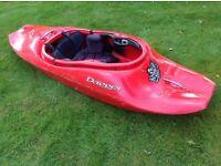 Dagger kingpin 6.1 Icon Freestyle Playboat Kayak - Red
