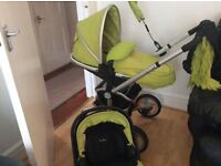 Silvercross surf 2 pushchair with car seat