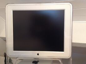 "Apple 17"" Studio Display M7649+ ADC-DVI converter+ DVI-HDMI connector."