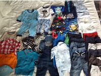 Baby boys clothing bundle 6-9 months.