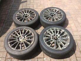 CIRTOEN C1 15inch Alloys & Tyres