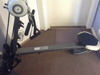pro fitness rowing machine and gym in one