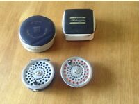 Hardy Marquis 8/9 fly reel and Spare spool