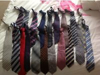 Selection of 20 gents ties