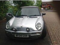Mini Cooper 1.6...2004 new mot