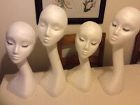 Polystyrene Mannequin Display Heads