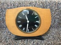 Vintage Westclox wooden mantle clock