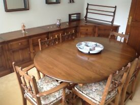 Table 6 chairs 5 units . As new tele - 07860 364494 buyer collect