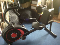 OLYMPUS TOUR RECUMBENT BIKE. With user manual. Good condition.