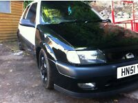 Saxo furio with vtr conversion