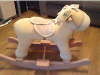 mamas & papas rocking horse for sale £12