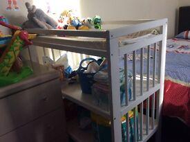 White IKEA Baby Change Station