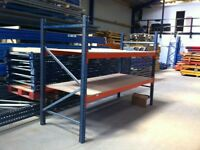 MECALUX SHOP WORKSHOP WAREHOUSE GARAGE SHED CONTAINER SHELVING RACKING UNIT BAY