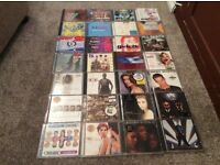28 mixed cd albums- various artists