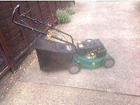 Petrol rotary lawnmower very clean