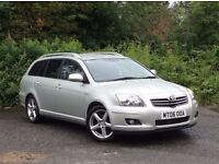 2006 Toyota Avensis T180 2.2 D-4D Silver 5-door Estate, Two former keepers, service history