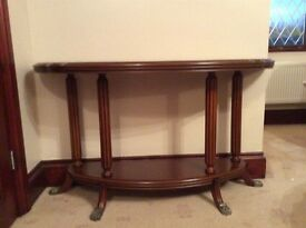 Coffee table and console table - elegant