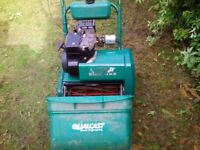 Petrol lawnmower qualcast cassette type