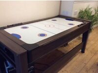 Pool and air hockey table. Good condition.
