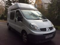 Renault traffic LH29 DCI MOTORHOME /CAMPER 2008 fsh buy for £58 per week