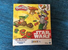 Play doh Star Wars, boxed and unused, unwanted gift