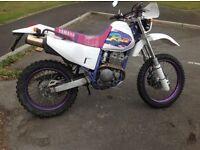 YamahaTT250R motorbike