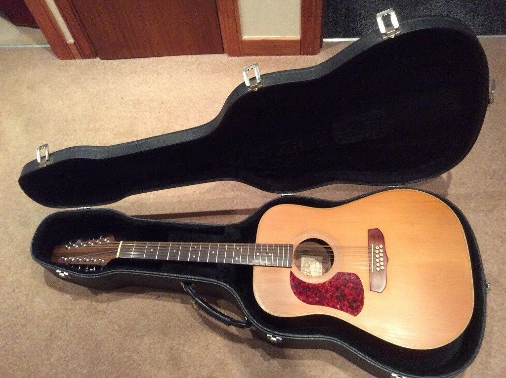Aria 12 String Left Hand Electro Acoustic Guitar