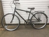 RALEIGH MANS TOWN BIKE FOR SALE-IMMACULATE CONDITION-FREE DELIVERY