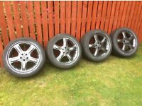"Genuine Mercedes 19"" AMG Alloys Antricite Grey very good condition"