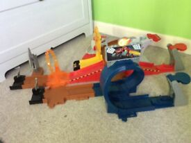 Blaze and the monster machines play set track
