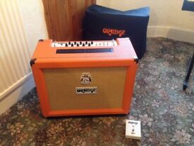 Orange AD30 TC Amplifier. Excellent condition, little use - house only. Comes with cover and pedals