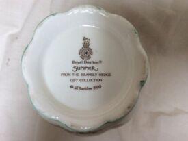 "Royal Doulton ""Brambly Hedge"" Summer Vase"