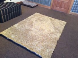 Next brand new rug rrp £120 soft specled golden