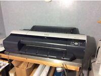 Free printer ipf600 24inch printer