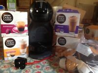Nescafe dulce gusto mini me coffee machine in vgc with lots of coffee