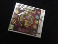 Professor Leyton & The miracle mask, 3DS game New & sealed