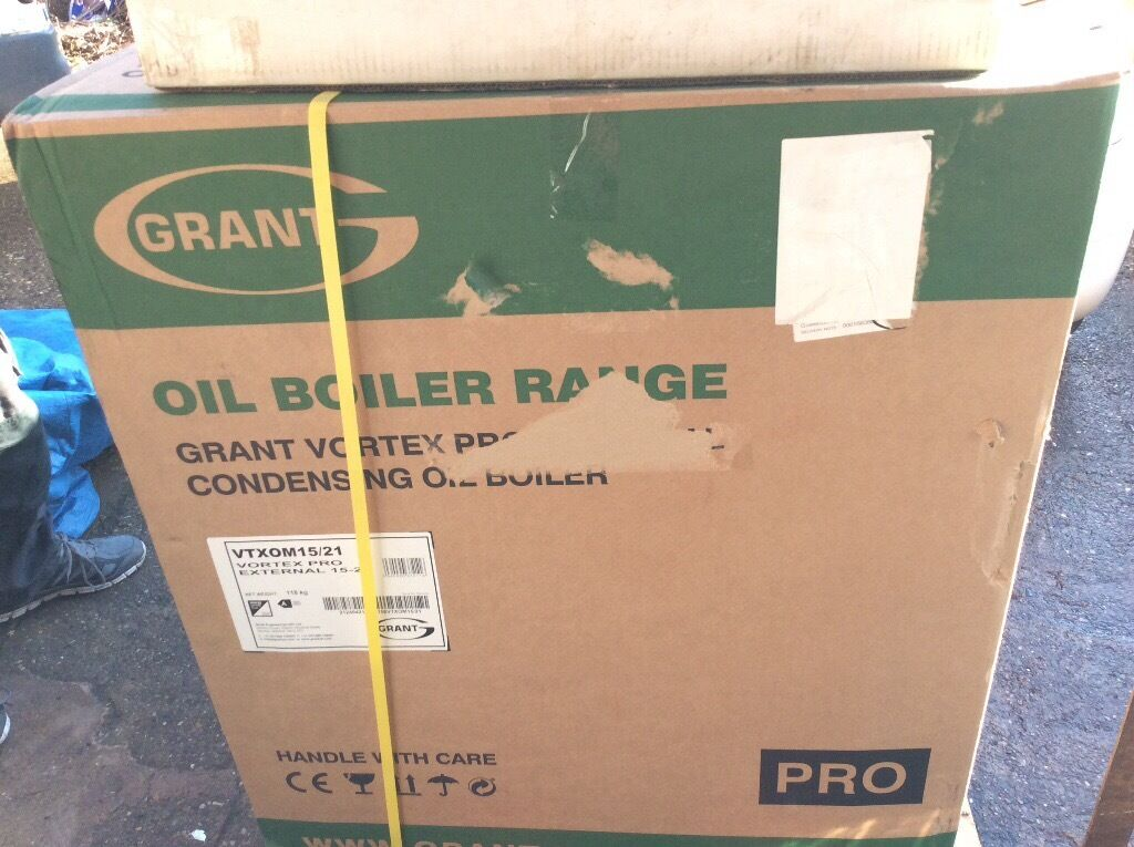 New External 15/21 Grant VORTEX pro condensing oil boiler | in ...