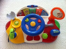 Chicco talking driver interactive toy