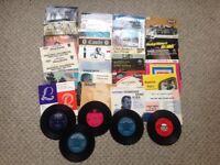 Job Lot Assorted Vinyl Records 45s