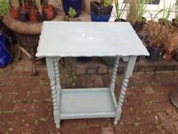 Shabby chic side table in need of TLC