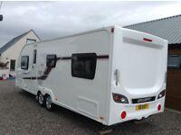 2014 Swift Challenger 625 SE twin axle 6-berth caravan
