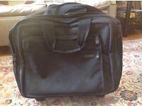 Wheelie laptop case - hardly used