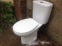 Roc close coupled toilet