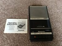 Panasonic cassette tape recorder