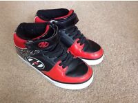 Child's size 2 black and red Heelys