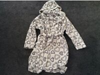 Girls Fluffy Dressing Gown
