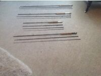 Mixture of fishing equipment for sale from £10 to £175